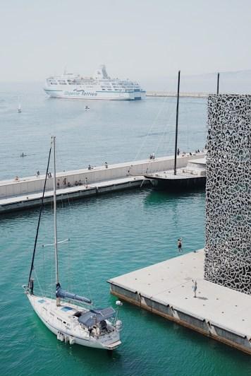 Vue Marseille Mucem