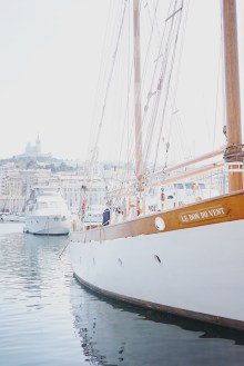 Vue vieux port marseille