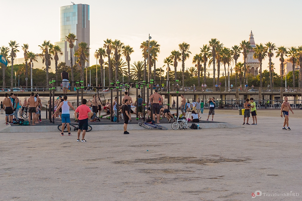 Fitness and sport everywhere at the Promenade