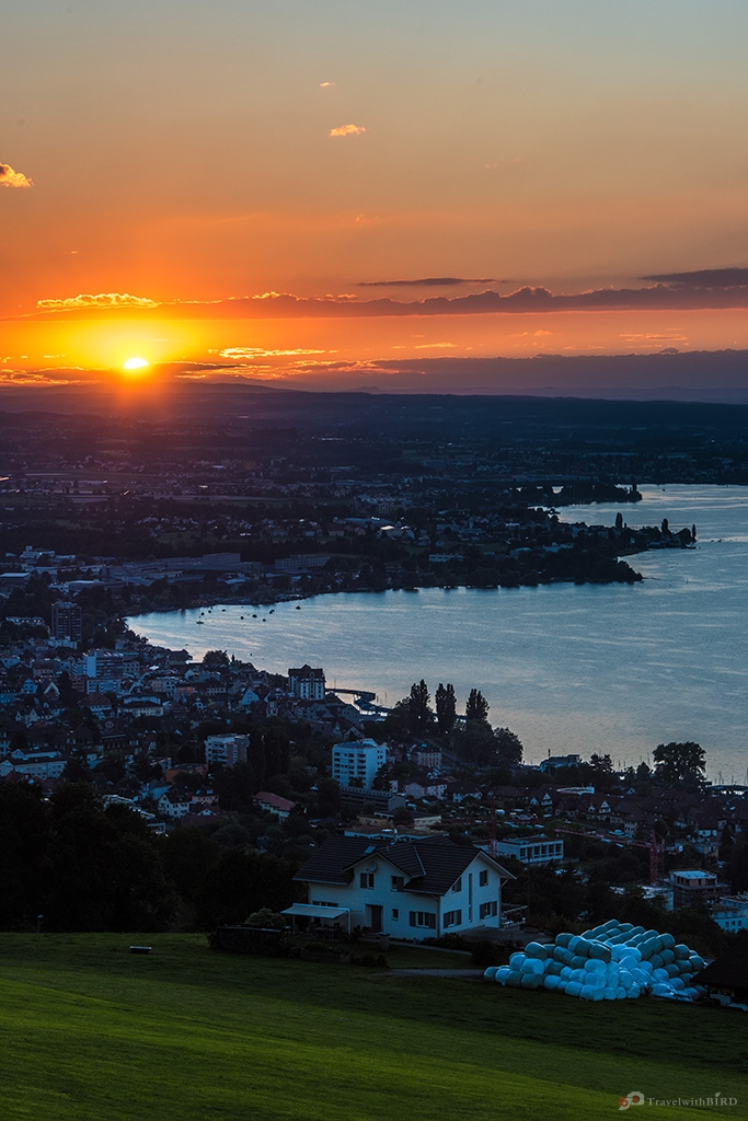 Sunset at Lake Constance - © St.Gallen-Bodensee.ch