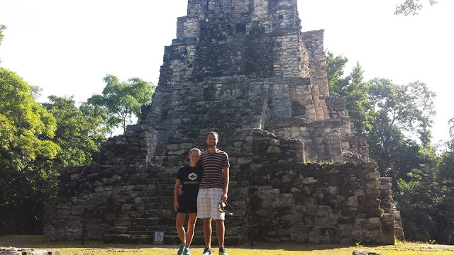 Muyil ruins in Mexico