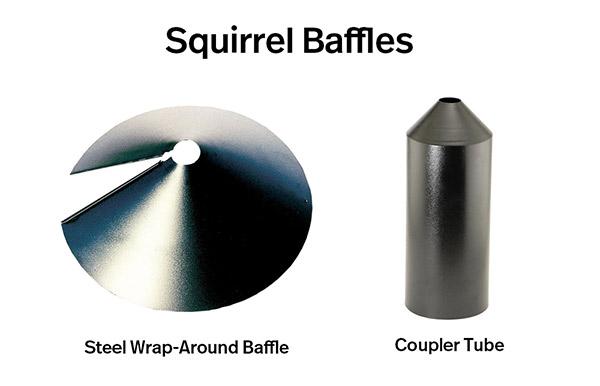 squirrel baffles
