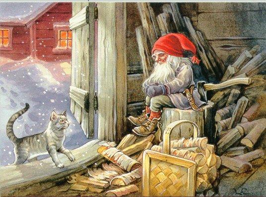 Manóból is megárt a sok, de nem a skandináv karácsonyi képeslapokon