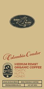 Bird Friendly Colombia Condor