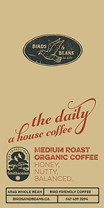 The Daily, a house coffee