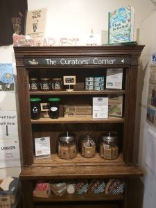 Birds and Beans Café's Curator's Corner