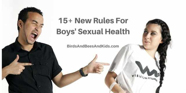 new rules for boys sexual health