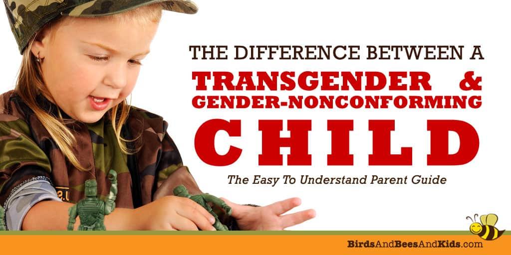 transgender child  vs gender nonconforming child