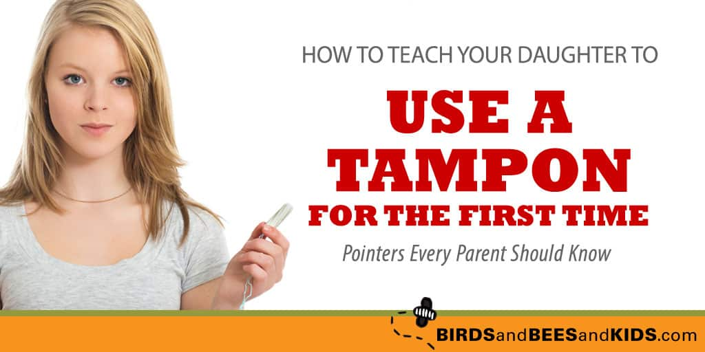 First Time Tampon Insertion Tips