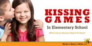 Kissing Games in Elementary School