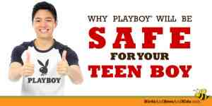 Thank You Playboy for Making Your Magazine Safe for Teen Boys