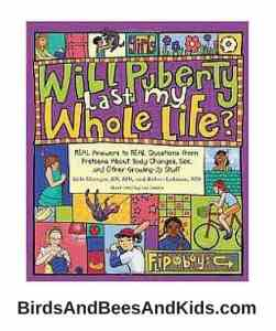 Great books for kids about puberty!