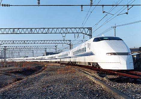 Shinkansen train circa 1989