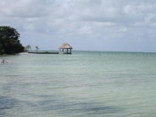 Our swim spot in Sarteneja