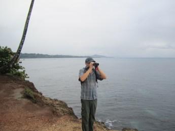 Scanning the coast at Manzanillo
