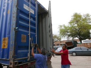 Closing the container. See you in Colombia
