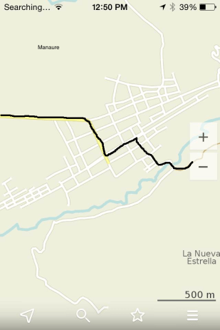Coming into La Paz/Robles from Valledupar and heading to Manaure