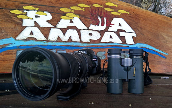 Advertising for Birding Equipment Malaysia