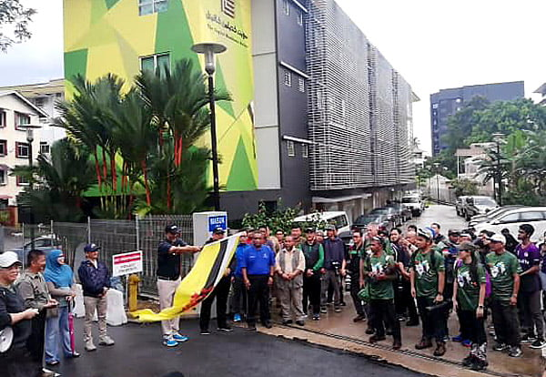 Brunei Bird Race Series Flag Off