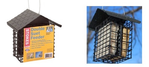 the best woodpecker feeders - suet feeders