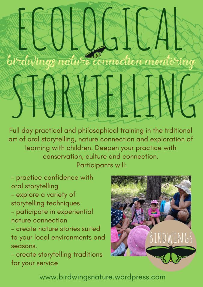 Ecological Storytelling Flyer - Birdwings