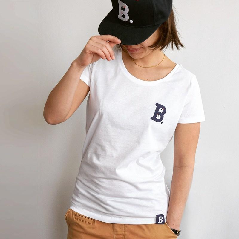 T-Shirt Birdz Blanc - Femme