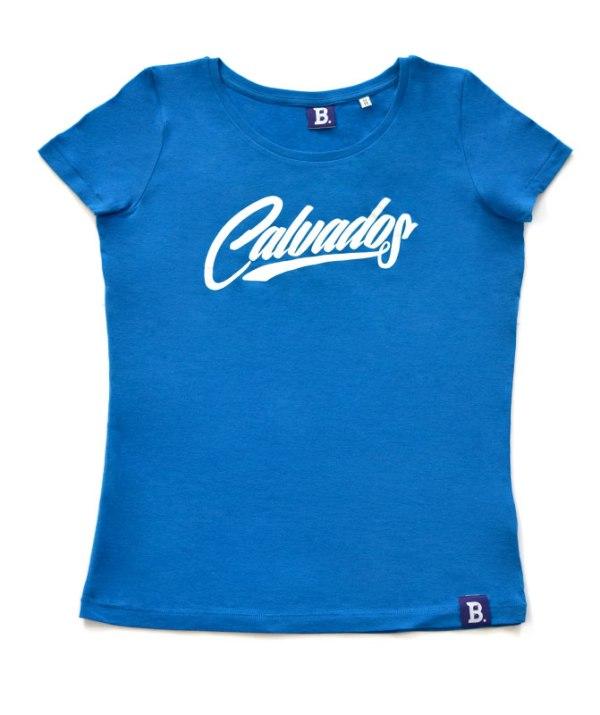 T-Shirt Calvados Bleu Azur - Femme