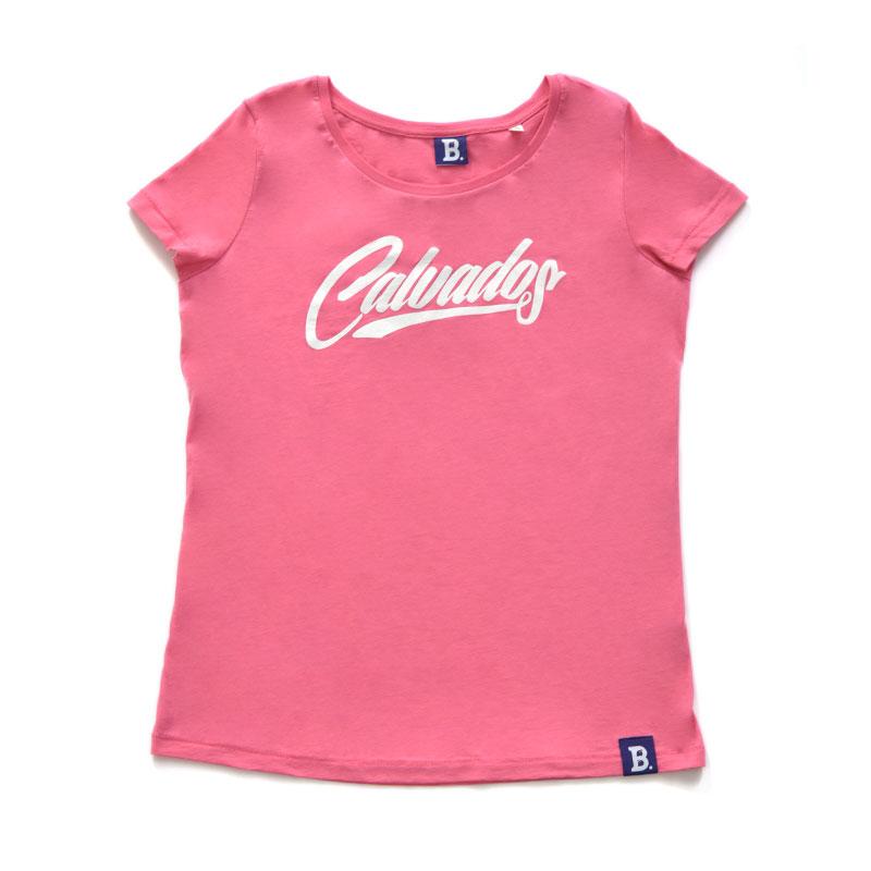 T-Shirt Calvados Rose - Femme