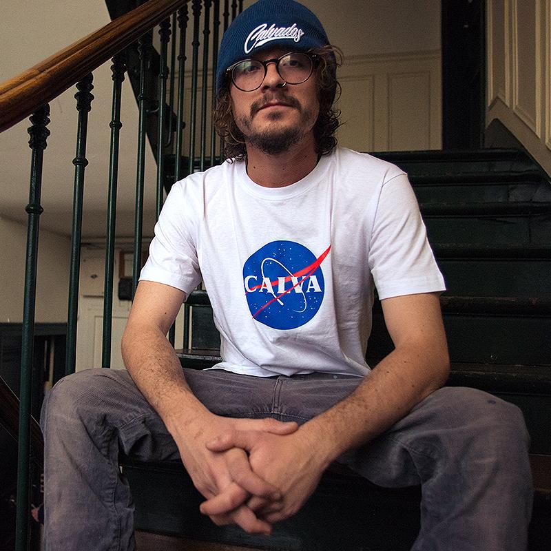 T-shirt Calva Blanc - Unisexe