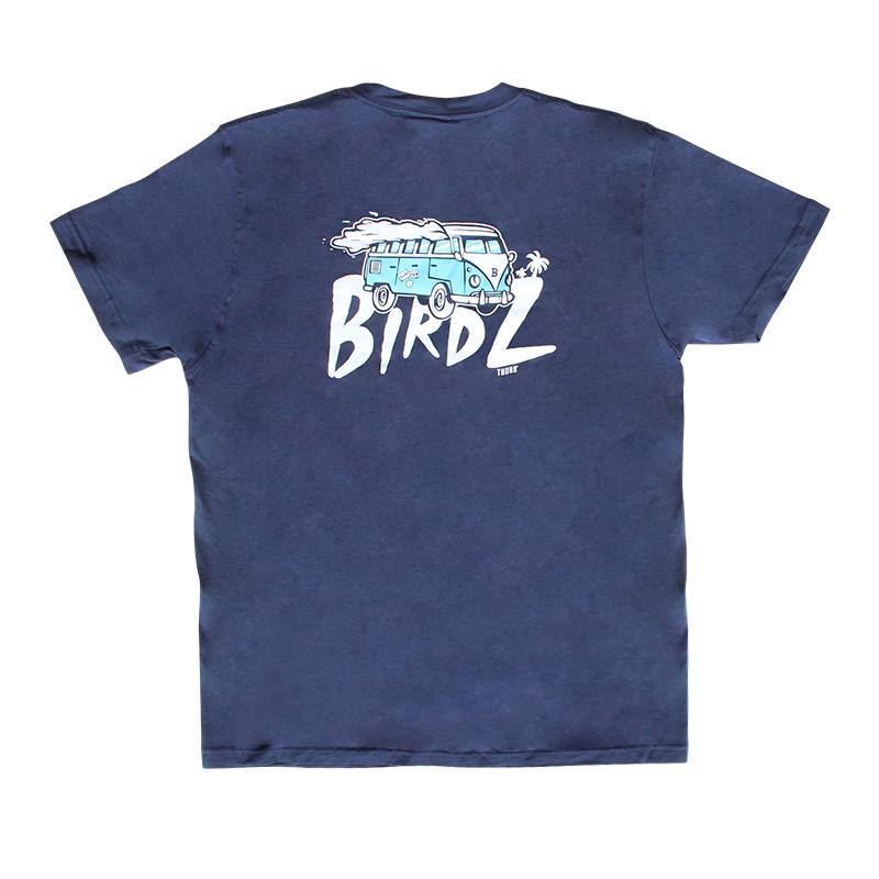 T-Shirt Thurb Bleu Marine - Dos