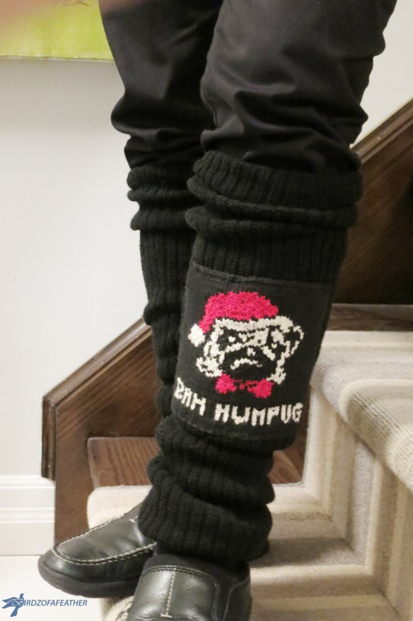 Whenever my in-laws host a Christmas party, it's always a hoot. This year, they introduced an ugly Christmas socks contest; a twist on ugly Christmas sweaters. | Birdz of a Feather