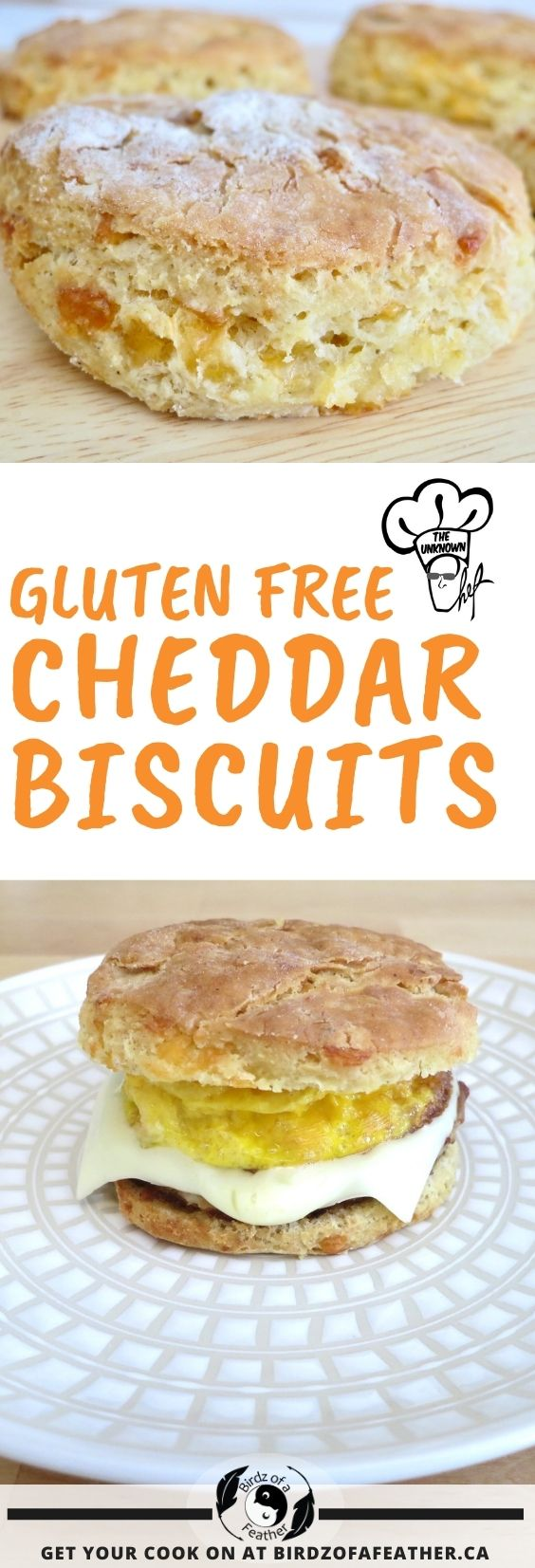 These gluten free cheddar biscuits bake up light and fluffy with the addition of Expandex! Bring on the sausage breakfast sandwiches! Birdz of a Feather | gluten free cheddar biscuits easy | cheddar biscuits | cheddar biscuit recipe | gluten free cheddar biscuits recipe | biscuits | biscuits homemade | biscuits gluten free | expandex recipes | expandex gluten free | expandex modified tapioca starch