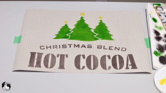 We're on a mission to make a hot chocolate station this year, complete with a hot cocoa tray! Comfort and joy in just one cup! Birdz of a Feather | hot cocoa bar ideas | hot cocoa station ideas | hot cocoa station sign | hot cocoa bar accessories | diy hot cocoa bar sign | Christmas hot cocoa bar sign | hot cocoa signs | Funky Junk's Old Sign Stencils | Old Sign Stencils | stencilled tray | hot cocoa bar | hot cocoa bar decorations | hot cocoa bar decor | hot cocoa bar ideas | old sign stencils