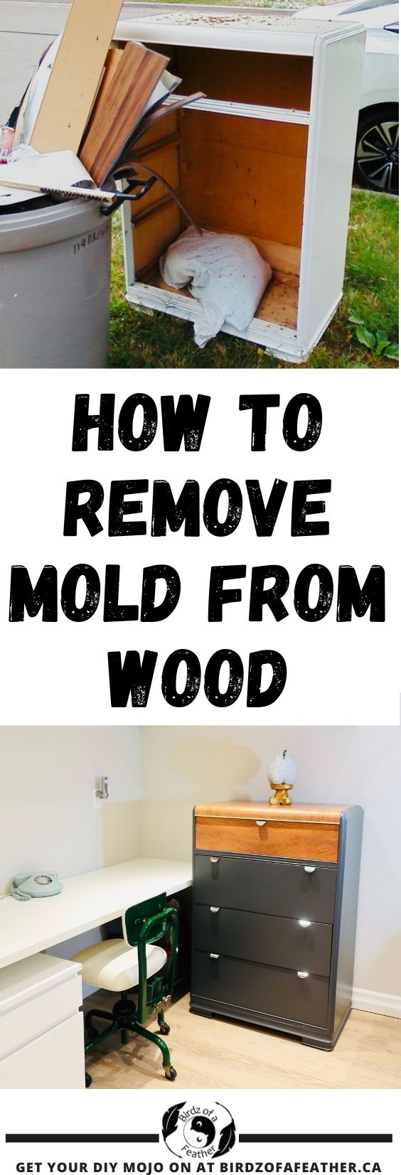 Pinnable image for How to Get Smell out of Old Furniture