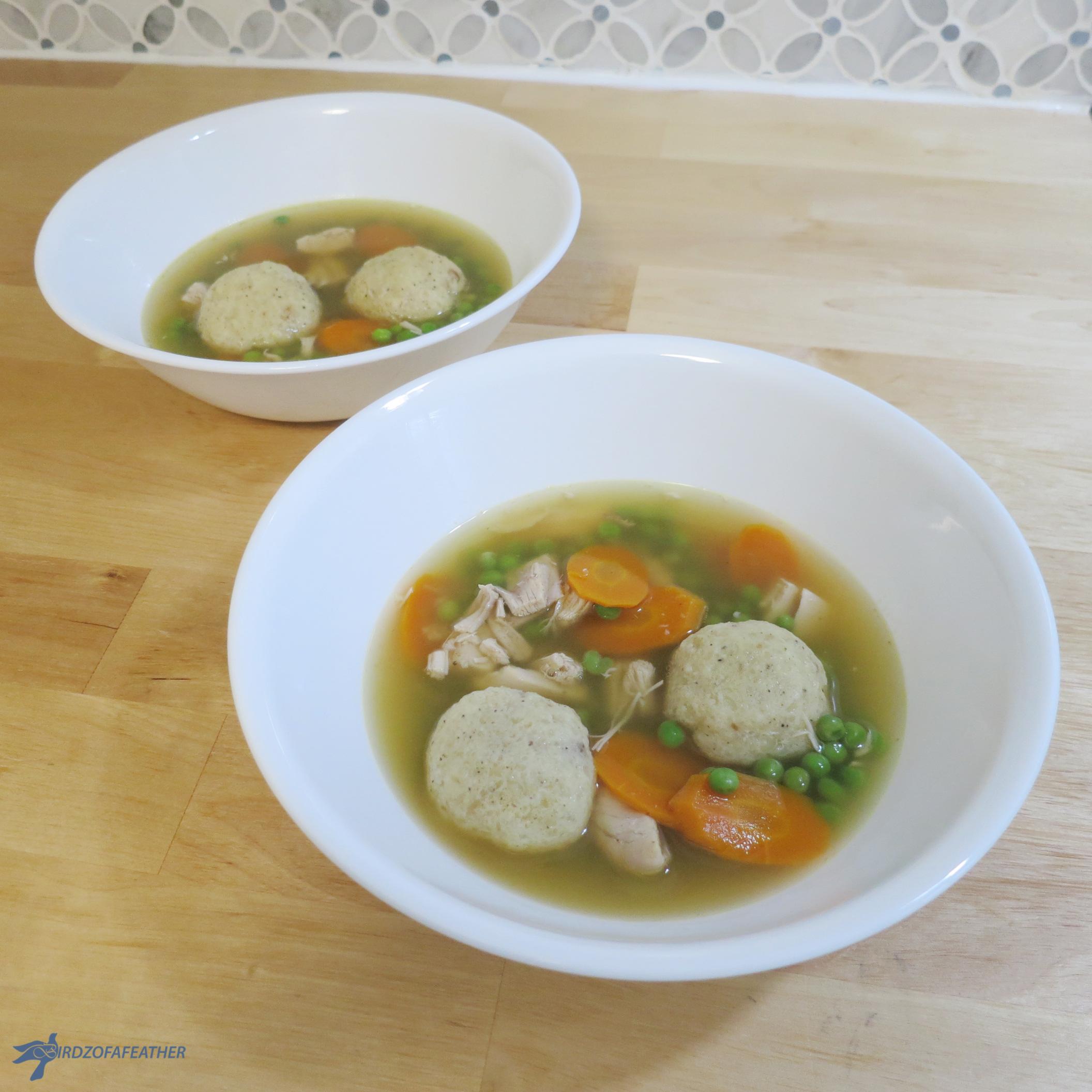 Chicken Soup with Matzo Balls – Gluten Free!
