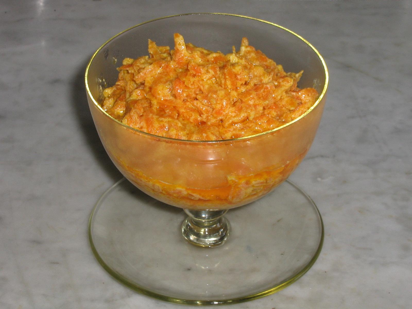 Yogurtlu Havuç Salata