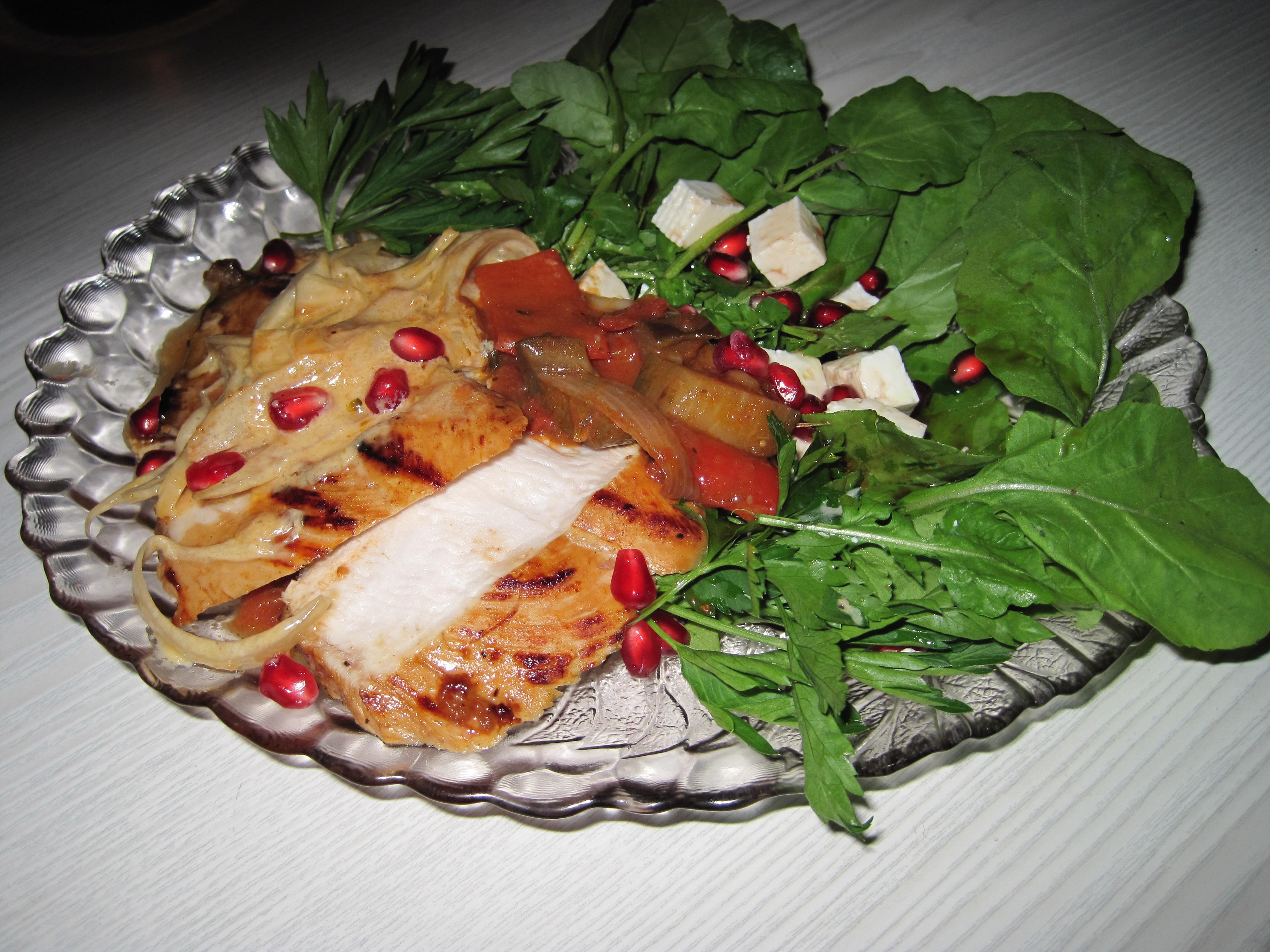 Kyckling med Turkisk Tomatröra