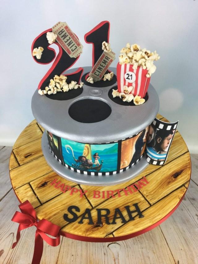 21St Birthday Cake Film Reel 21st Birthday Cake Mels Amazing Cakes
