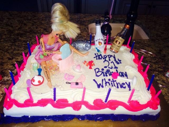 21St Birthday Cake Total Sorority Move The Ultimate 21st Birthday Cake Tsm