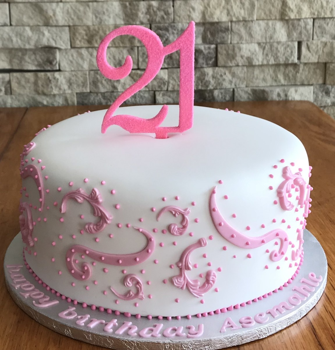 Incredible 21St Birthday Cakes For Her 21St Birthday Cakes Mulberry Cakes And Funny Birthday Cards Online Hendilapandamsfinfo