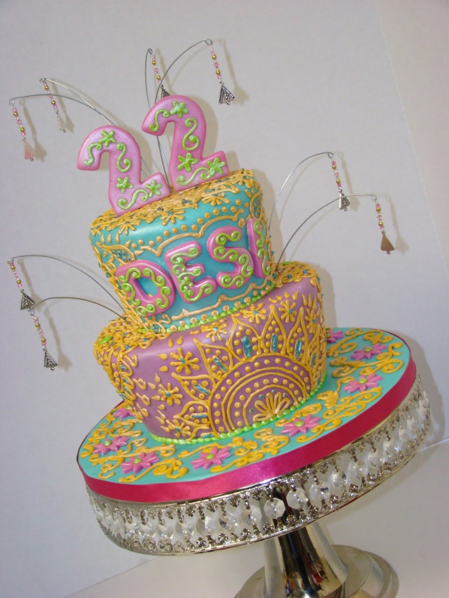 Fabulous 22Nd Birthday Cake Sweet Cakes Rebecca Rock The Kasbah 22Nd Birthday Cards Printable Trancafe Filternl
