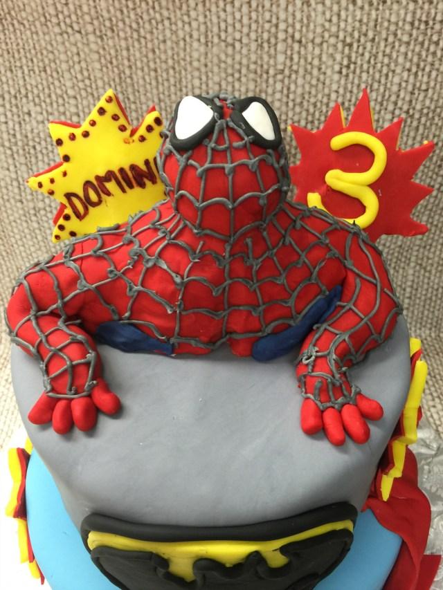 3Rd Birthday Cake Spiderman 3rd Birthday Cake