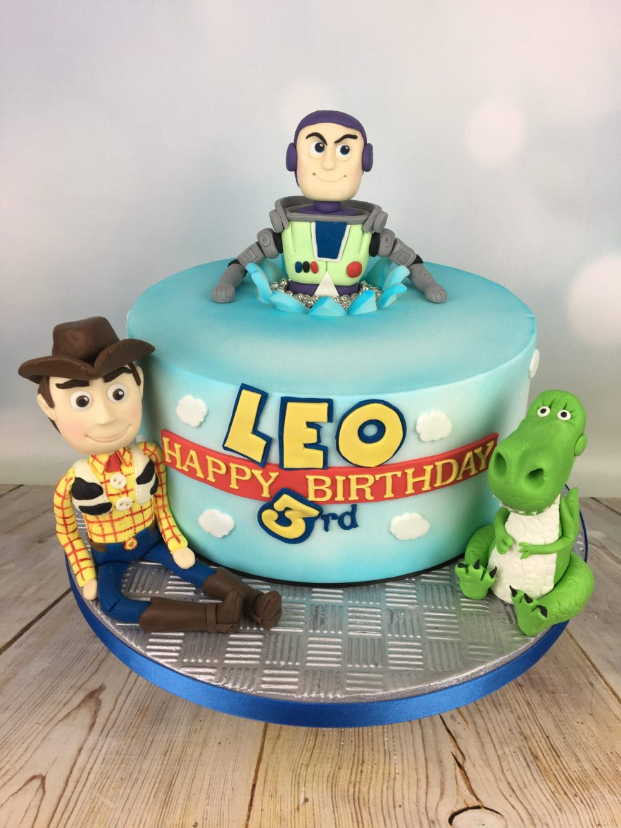 Marvelous 3Rd Birthday Cake Toy Story 3Rd Birthday Cake Mels Amazing Cakes Funny Birthday Cards Online Overcheapnameinfo
