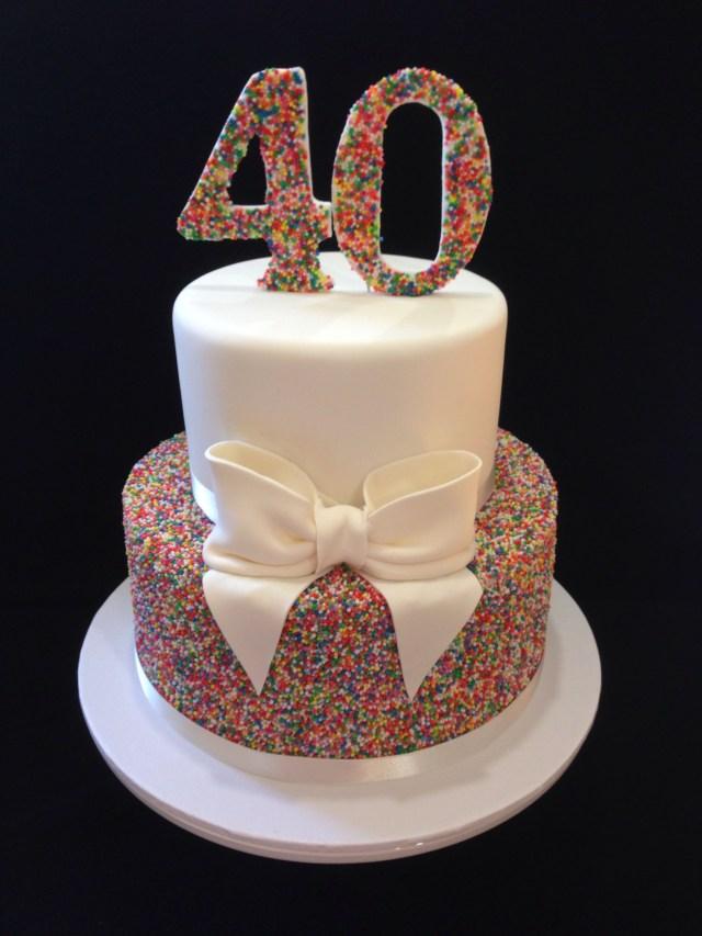 Peachy 32 Brilliant Picture Of 40Th Birthday Cakes Birijus Com Funny Birthday Cards Online Eattedamsfinfo