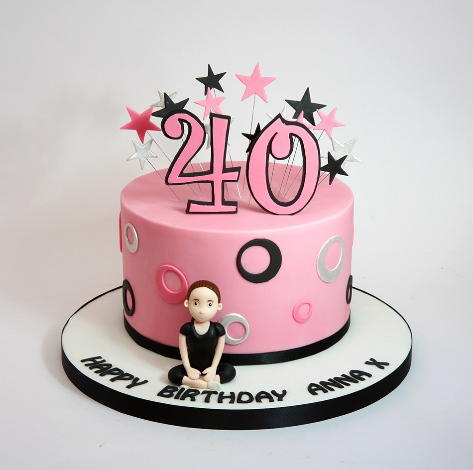 Cool 40Th Birthday Cakes Chris Dance Cakes Birijus Com Funny Birthday Cards Online Elaedamsfinfo