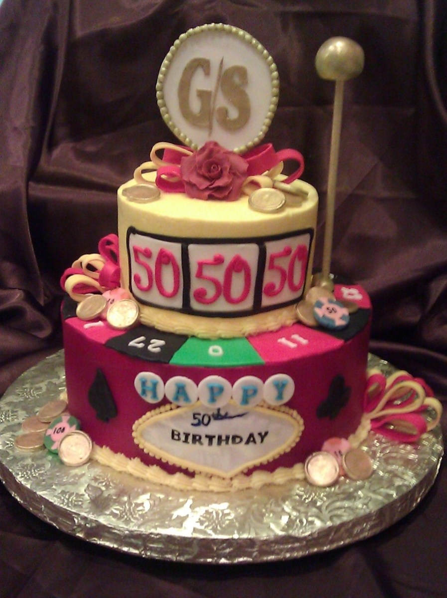 Outstanding 50 Birthday Cakes Casino 50Th Birthday Cake Cakecentral Birijus Com Funny Birthday Cards Online Barepcheapnameinfo