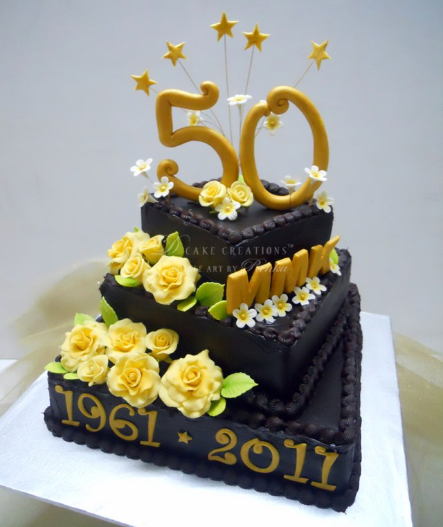Astonishing 32 Pretty Photo Of 50Th Birthday Cake Birijus Com Funny Birthday Cards Online Barepcheapnameinfo