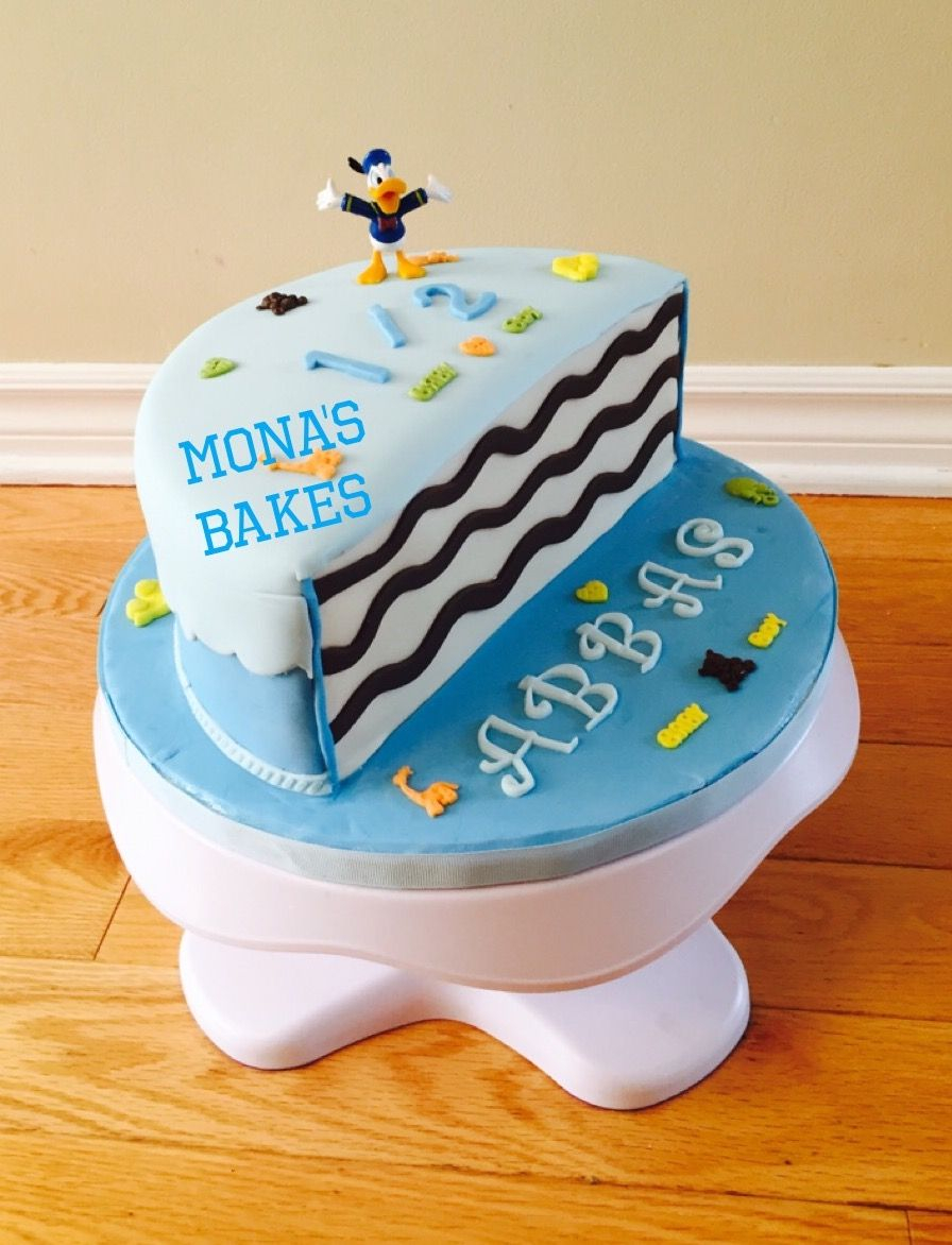 30+ Brilliant Picture of 6 Month Birthday Cake