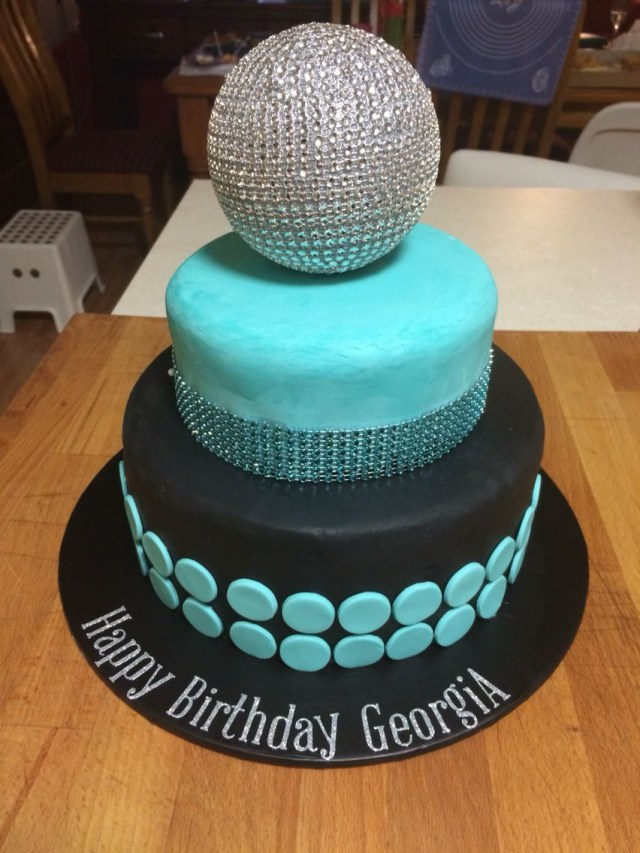 7 Year Old Birthday Cake Disco Cake For My 7 Year Old Birthday In 2018 Pinterest Disco
