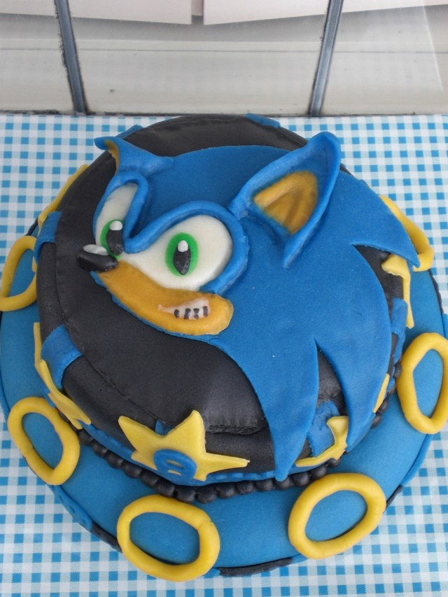 7 Year Old Birthday Cake Sonic Birthday Cake For 7 Year Old Cakecentral